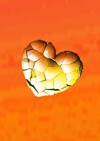 Break Heart Adult Orange