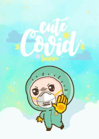 Covid-19 Green Pastel