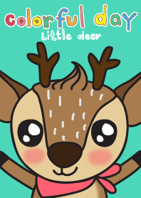 Colorful Day 4 (little deer)