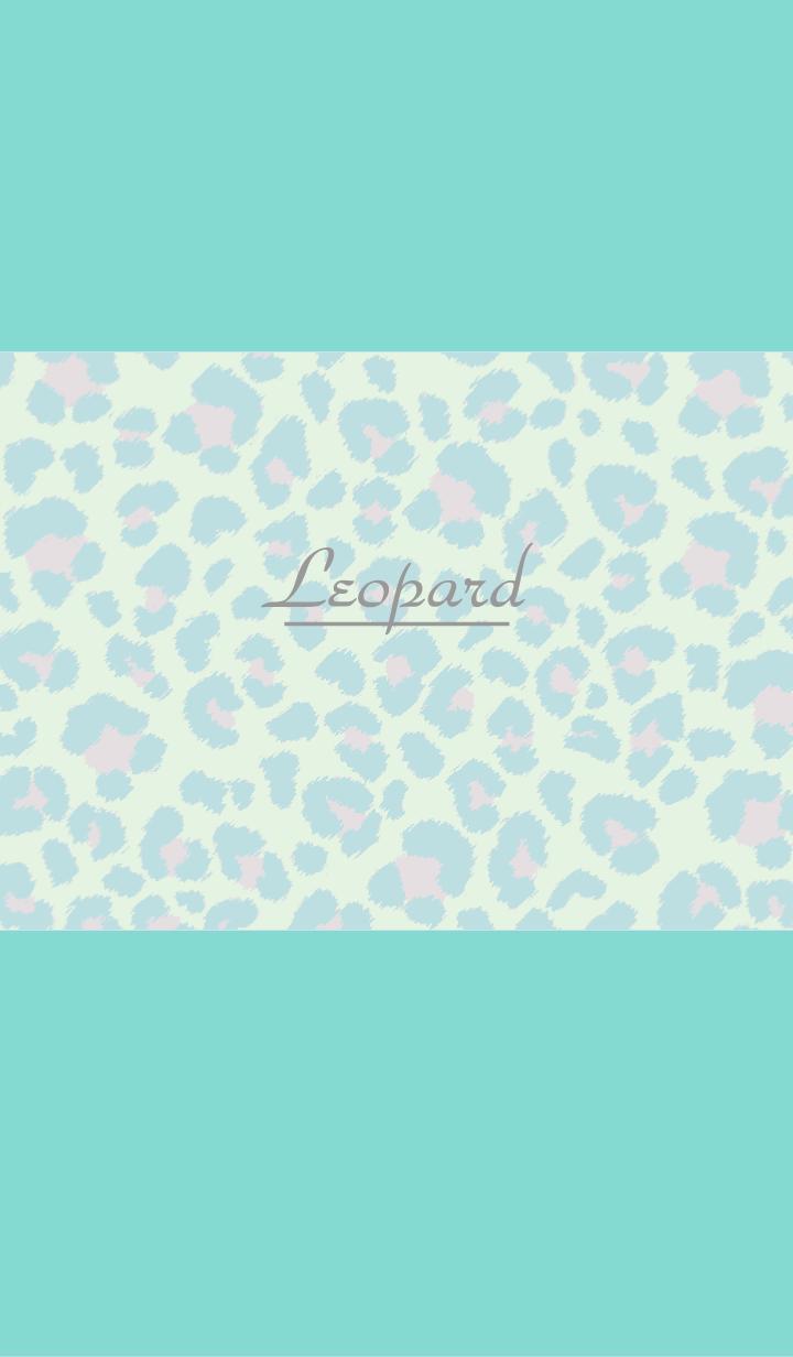Leopard pattern:Mint green WV