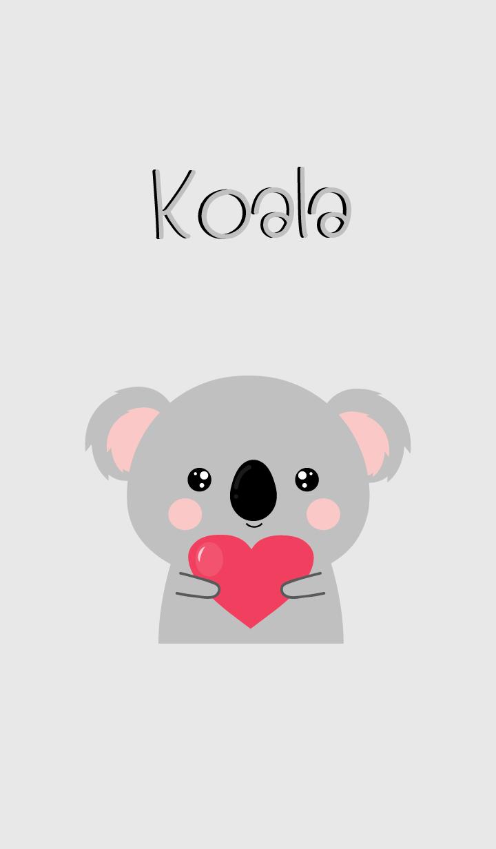Simple Pretty Koala