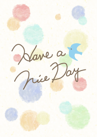 Adult watercolor Polka dot2 - smile22-