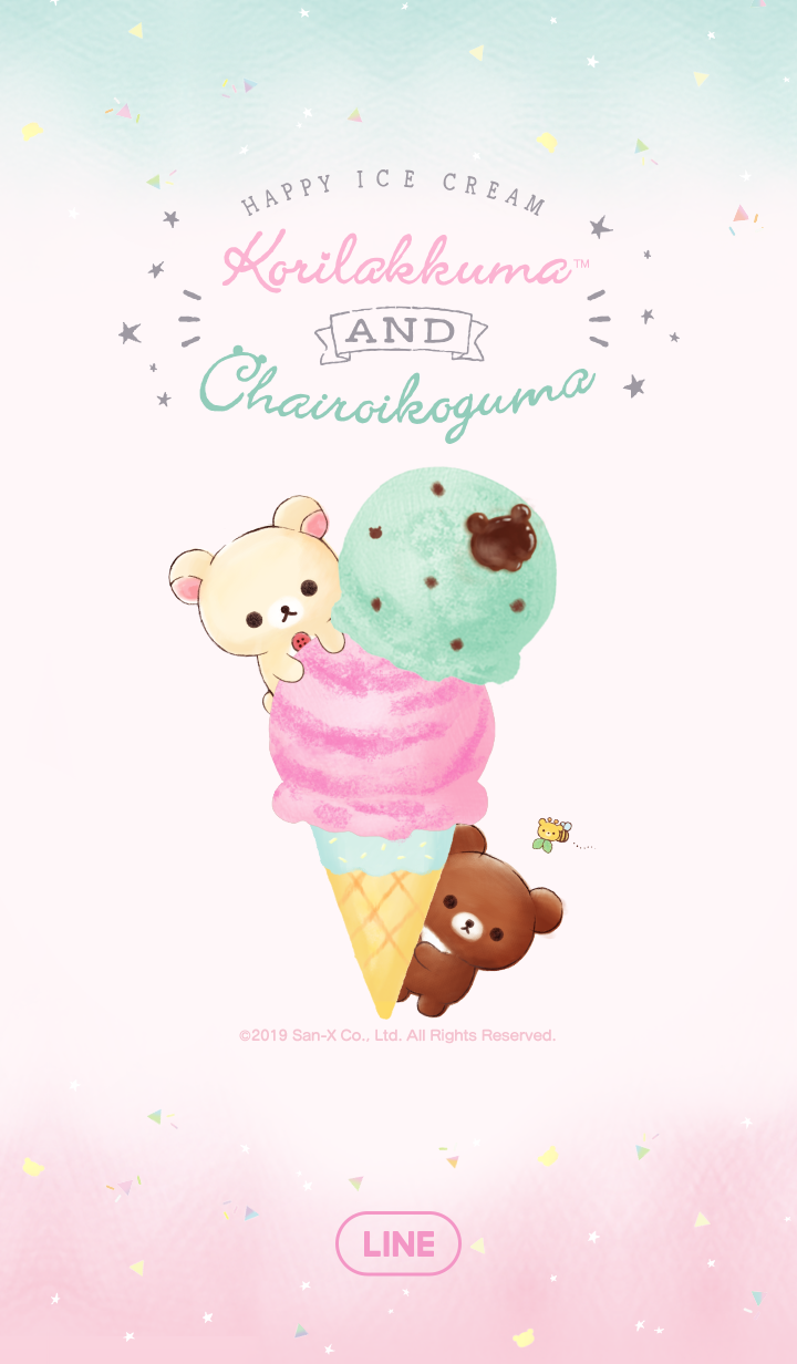 Korilakkuma HAPPY ICE CREAM