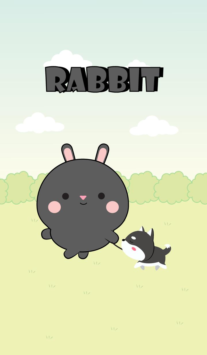 Mini Lovely Black Rabbit Theme (jp)
