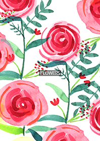 water color flowers_500