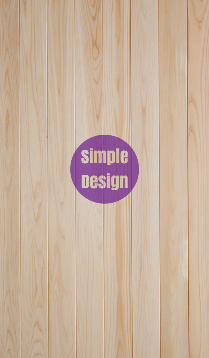 Wood Simple Design Purple ver.