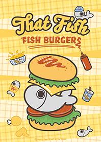 白爛貓的那條魚☆魚魚漢堡☆ (日本版)