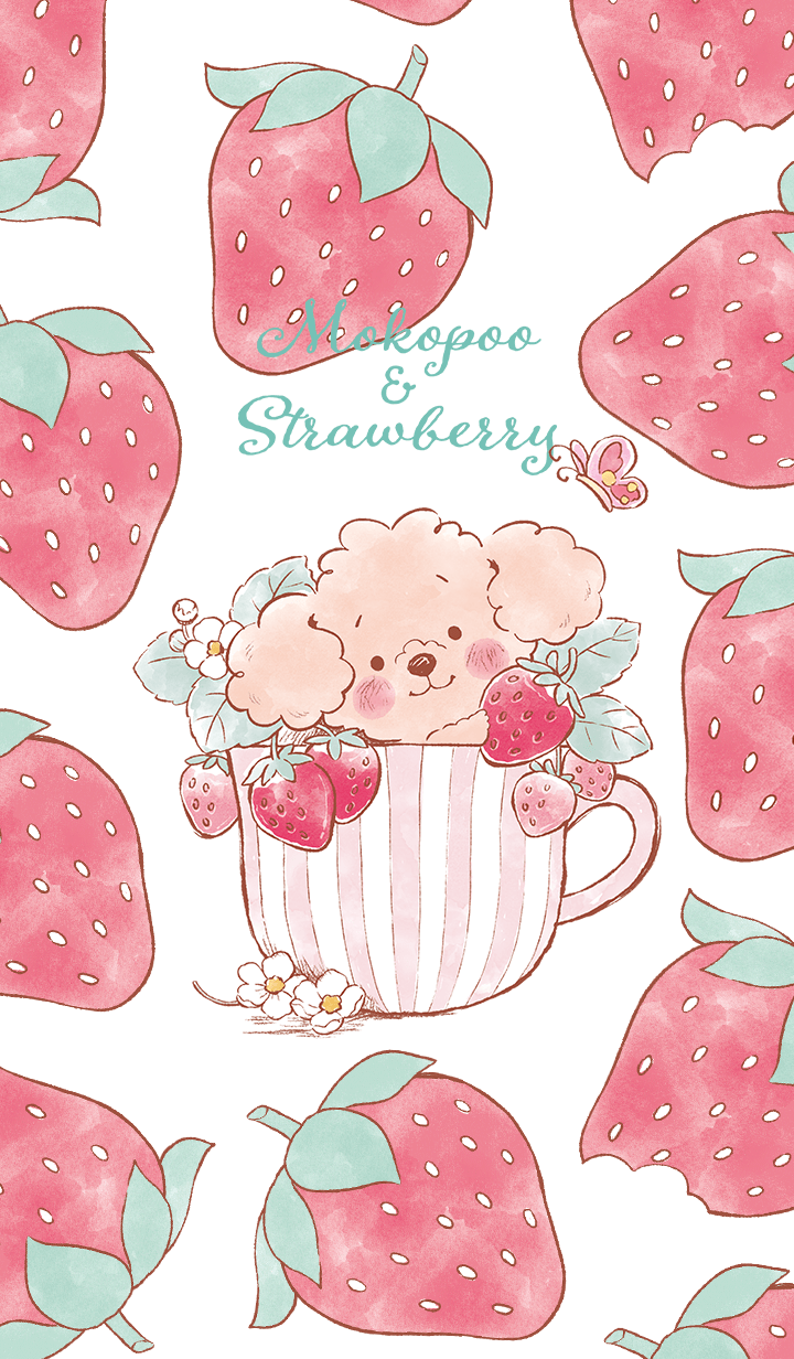 Mokopoo&strawberry