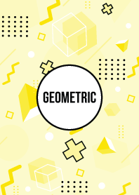 Geometric Oasis Yellow