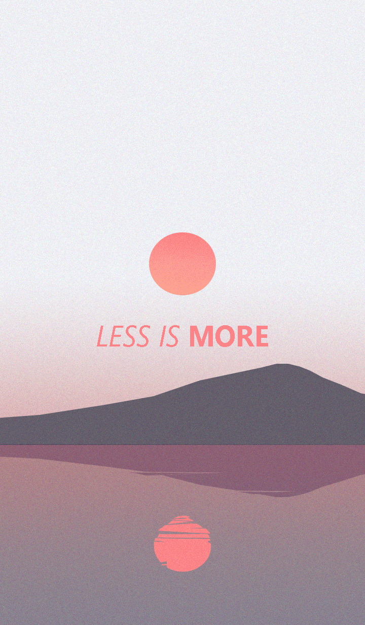 Less is more - #25 Nature