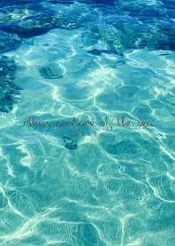 clean surface of the sea -BLUE- 4 #fresh