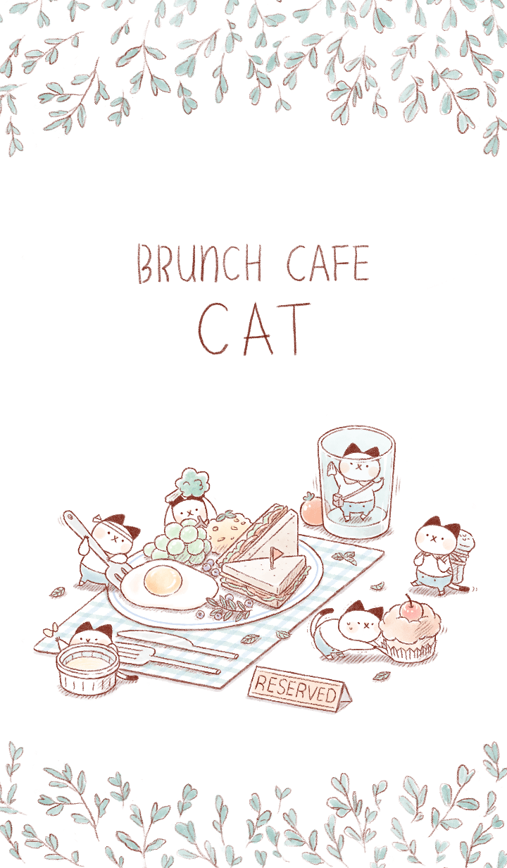 Brunch Cafe Cat