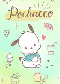 Pochacco(水彩風)