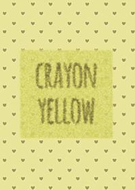 Crayon สีเหลือง 4 / หัวใจ