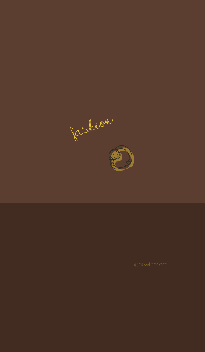 fashion chocolate brown