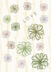Floral LOVE 9 -watercolor-joc