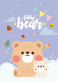 Teddy Bear Baby Violet