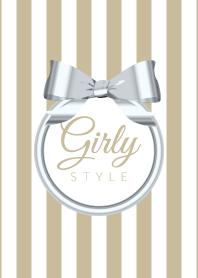Girly Style-SILVERStripes11