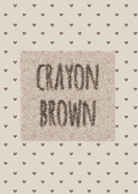Crayon Brown 2 / หัวใจ