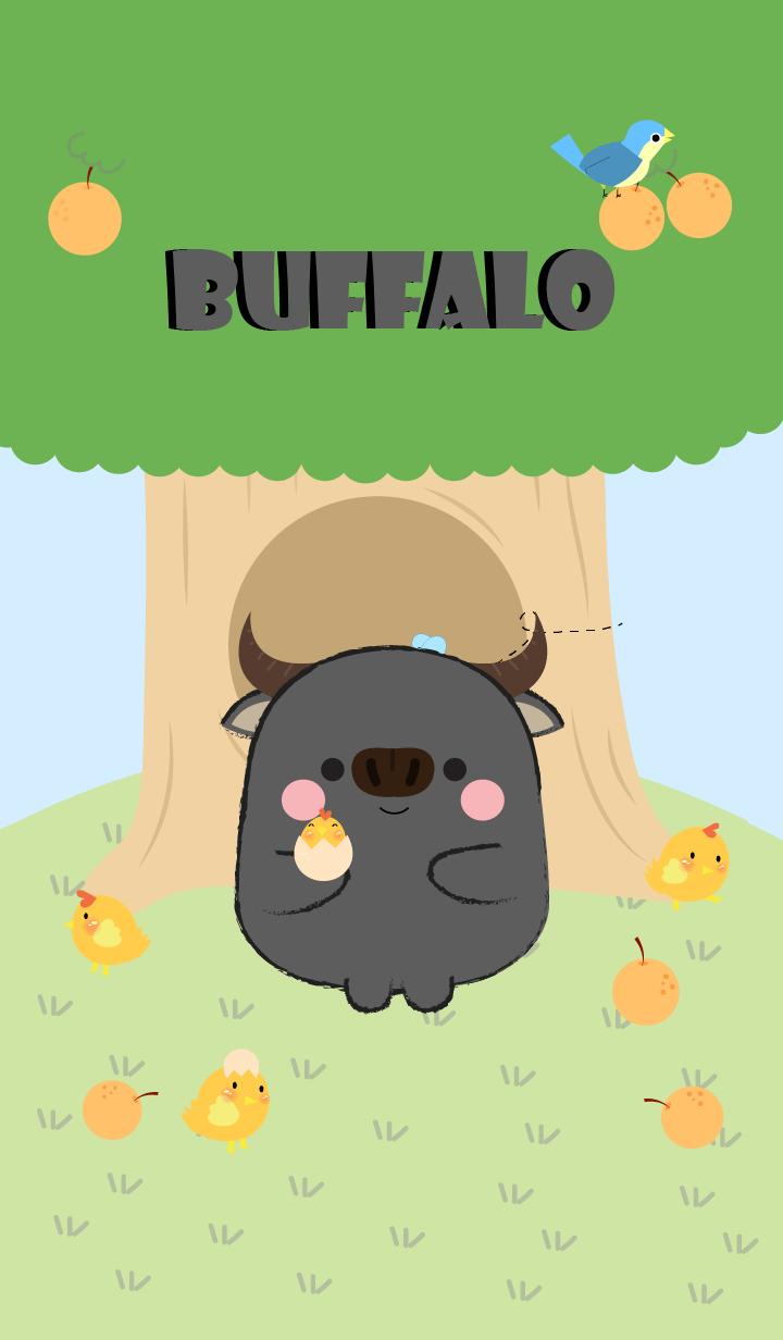 Buffalo With Tree Theme (jp)