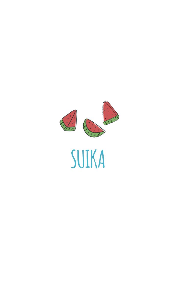 Blue : Watermelon