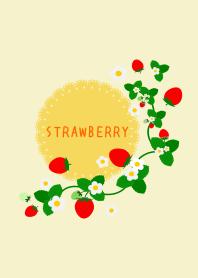 Strawberry Yellow (Lace paper)