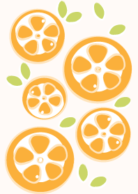 Sliced orange theme 40