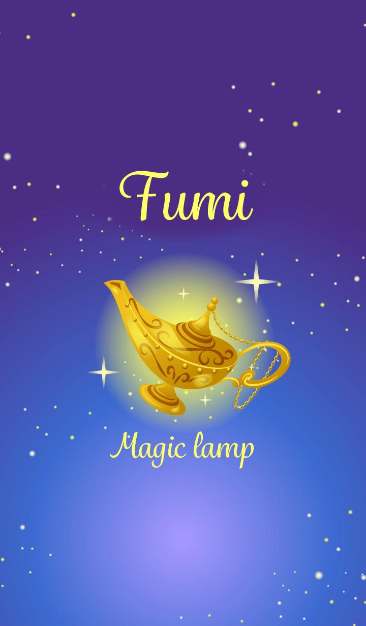 Fumi-Attract luck-Magiclamp-name