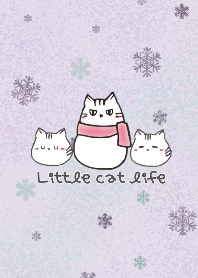 Iittle cat winter E