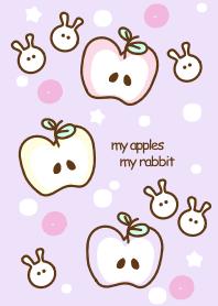 Sweet pastel apples 12