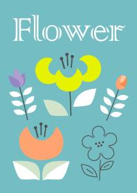北歐設計的花卉主題