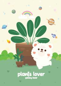 Bear Plants Lover Charming