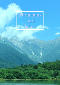 Mountains and lakes 4.
