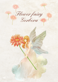 Gerbera flower fairy