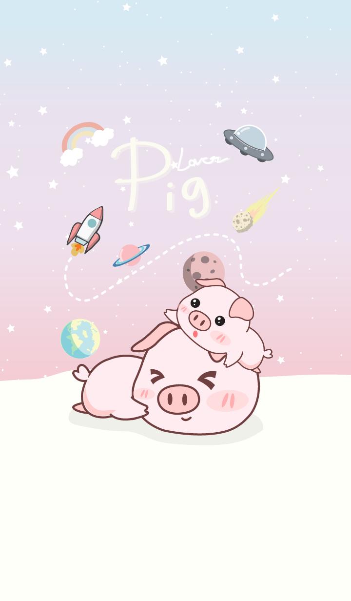 Pig lover.(galaxy pastel)