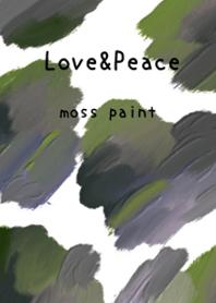 油畫藝術【moss paint 22】
