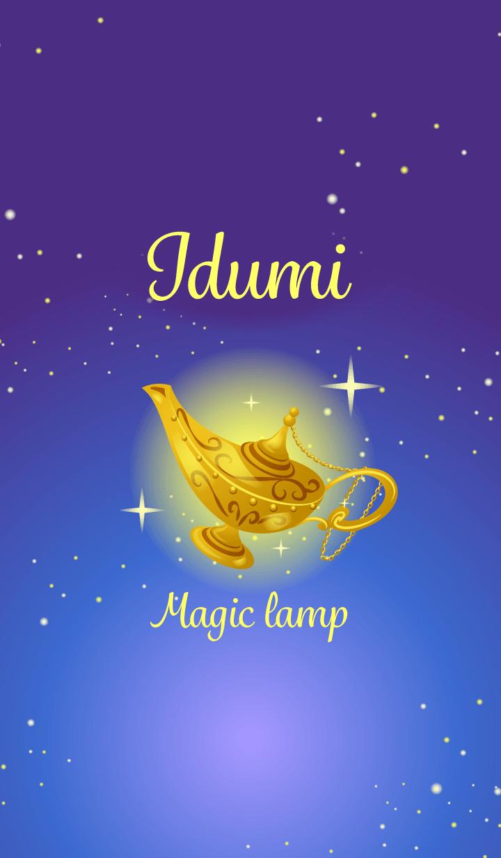 Idumi-Attract luck-Magiclamp-name