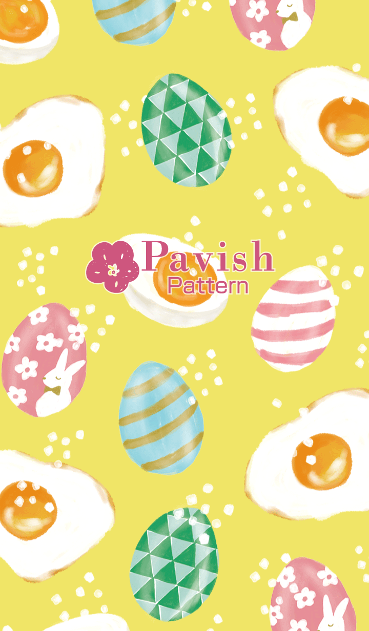 Happy Egg-Pavish Pattern-