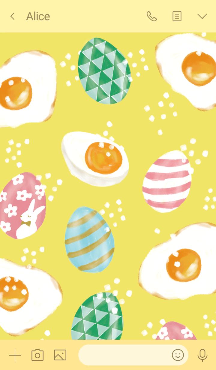 Happy Egg-Pavish Pattern-