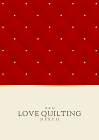 LOVE QUILTING -DUSKY RED- 7