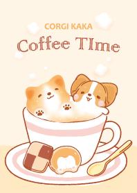 柯基犬卡卡 - 咖啡時光