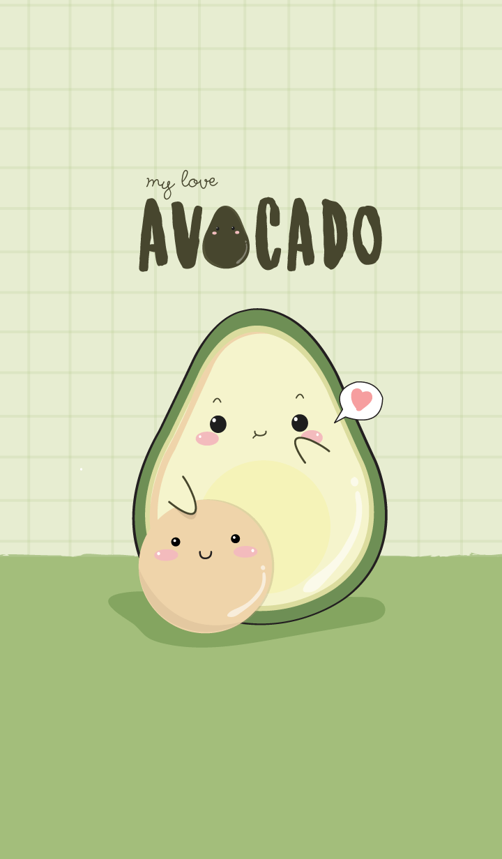 Avocado my love (ver.green)