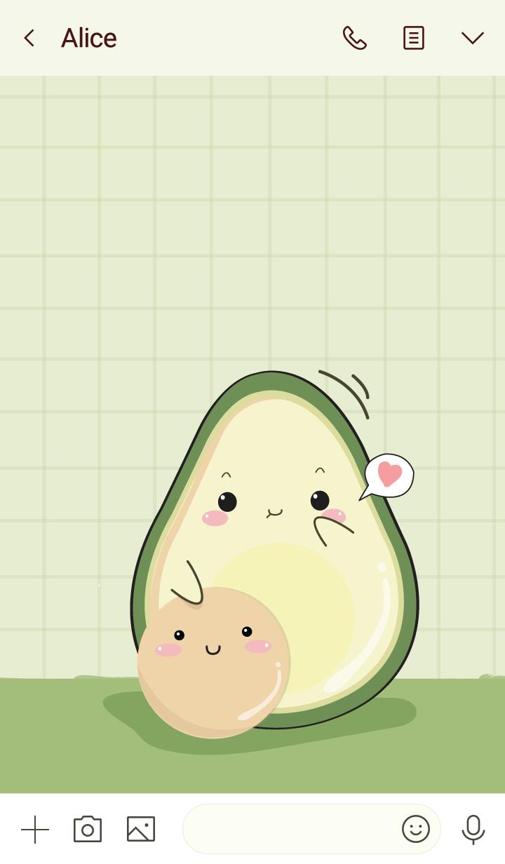 Avocado my love (ver.green)