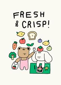 FRESH & CRISP