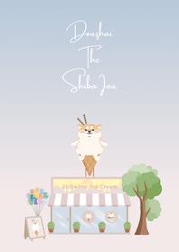 ʕ•ᴥ•ʔ 柴犬抖宅 × 阿柴冰淇淋
