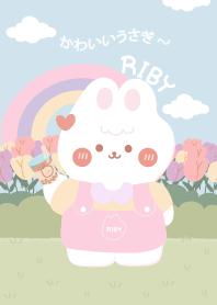 Riby Rabbit : Garden