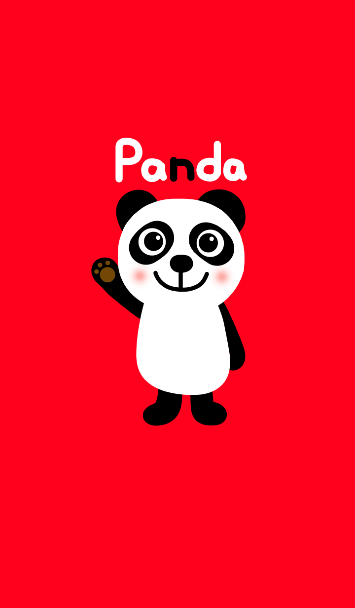 Panda and red from japan