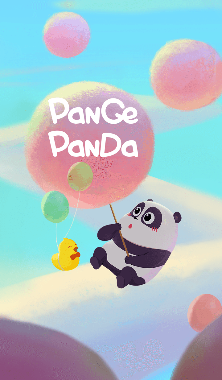 Panda Pange & cotton candy