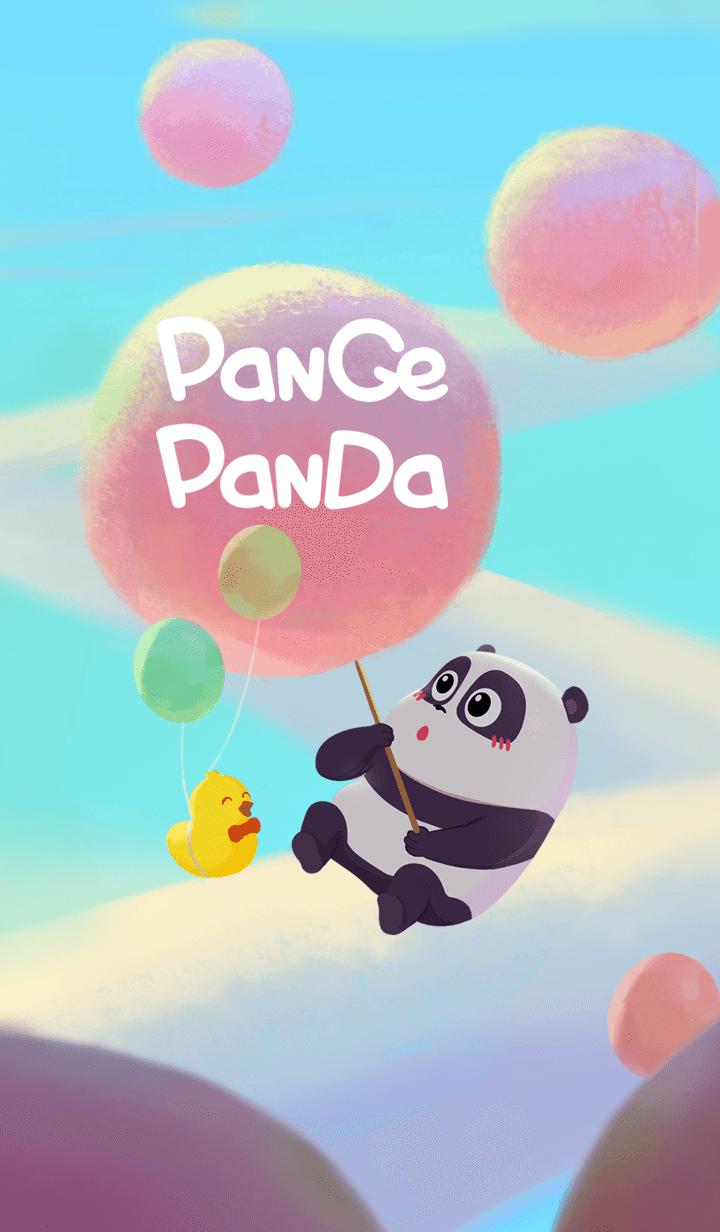 熊猫潘戈与棉花糖
