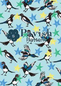 Magpie&Star-Pavish Pattern-